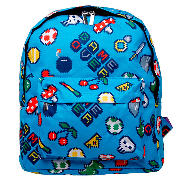 Mochila Game Over 38cm
