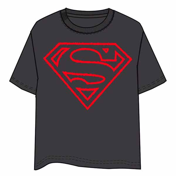 Camiseta Superman Logo Relieve