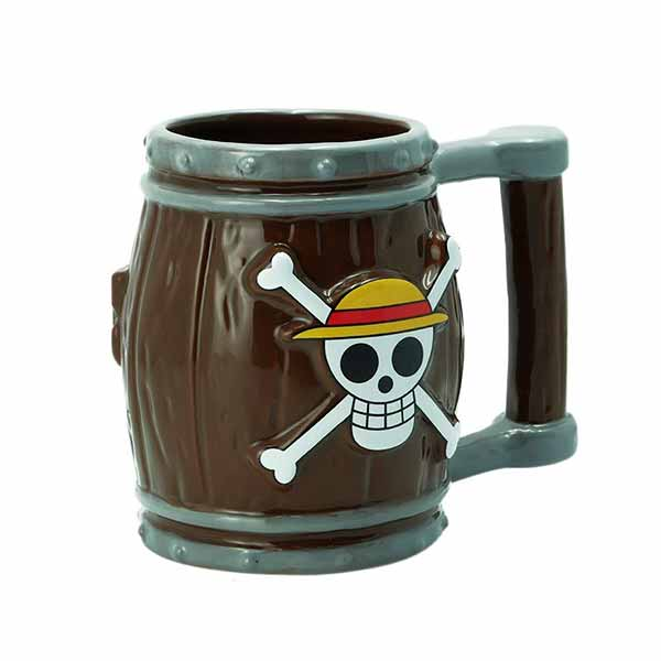 Taza 3D Barril One Piece
