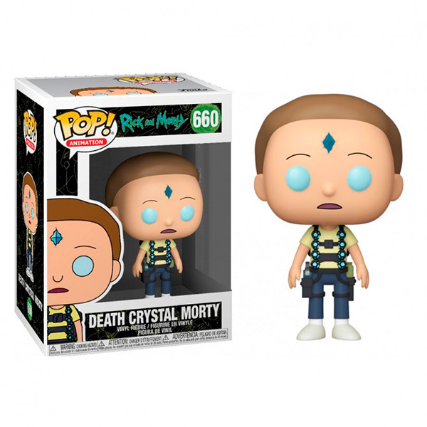 Pop Death Crystal Morty 660