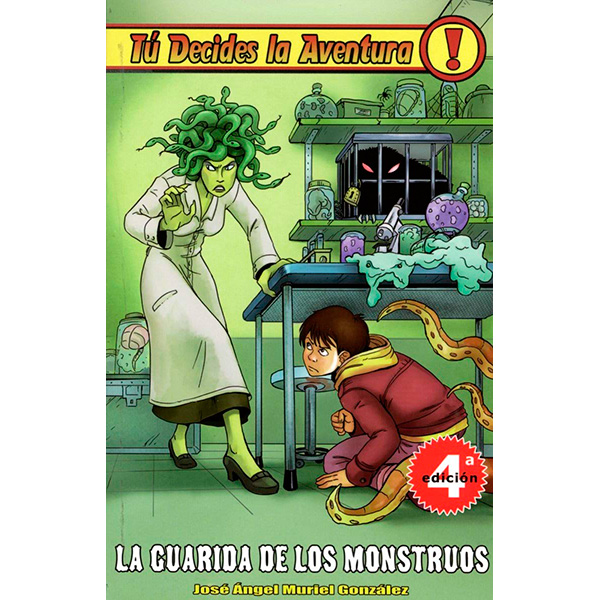 Tu Decides La Aventura 06 - La Guarida de los Monstruos