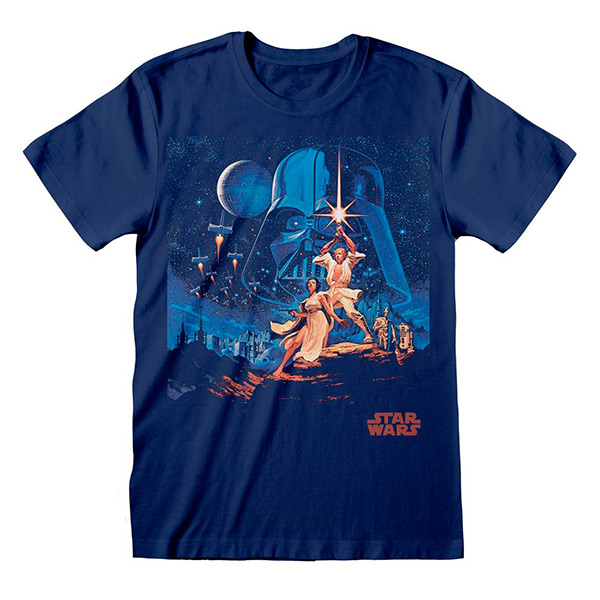 Camiseta Star Wars New Hope Poster