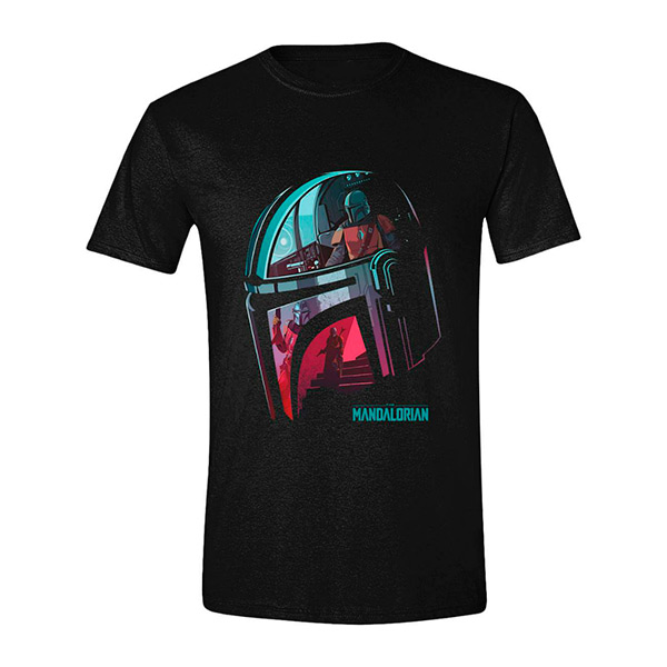 Camiseta Mandalorian Reflection