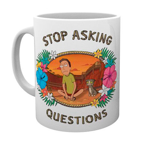 Taza Rick y Morty Questions