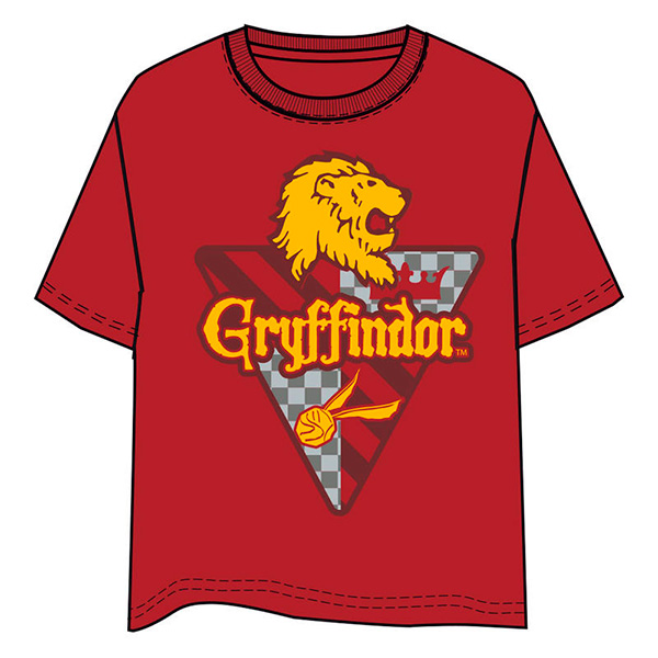 Camiseta Niño Harry Potter Gryffindor Roja