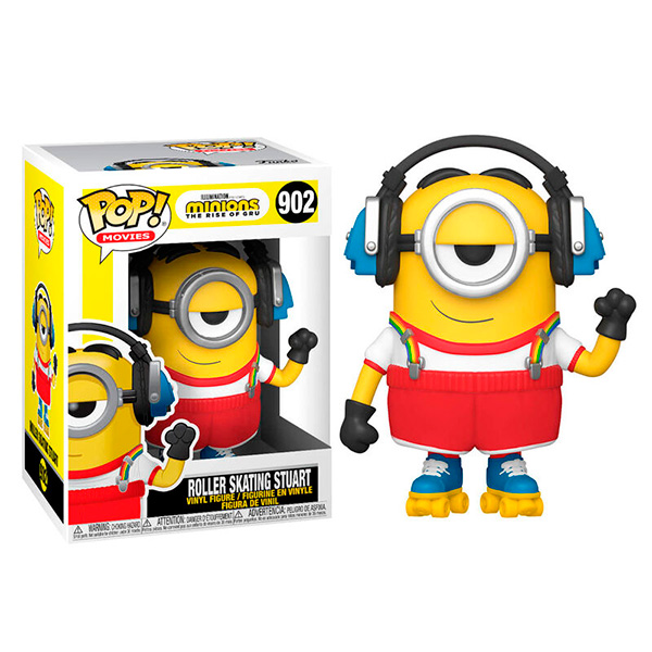 Pop Minions Roller Skating Stuart 902