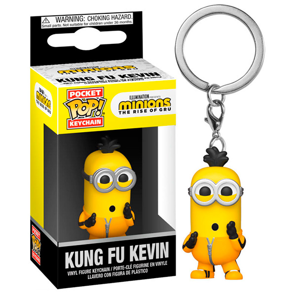 Pocket Pop Minions Kung Fu Kevin