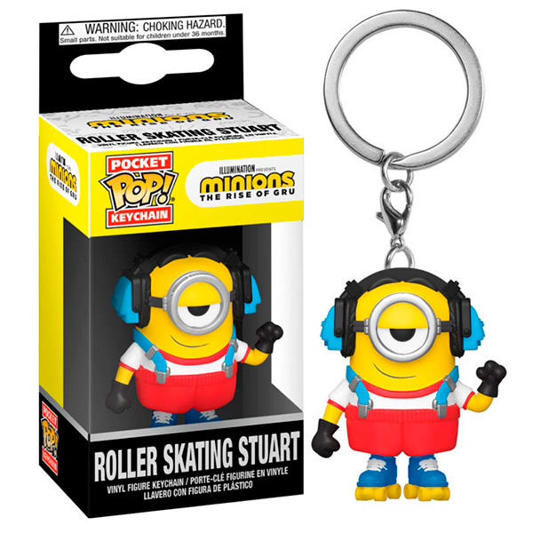 Pocket Pop Minions Roller Skating Stuart