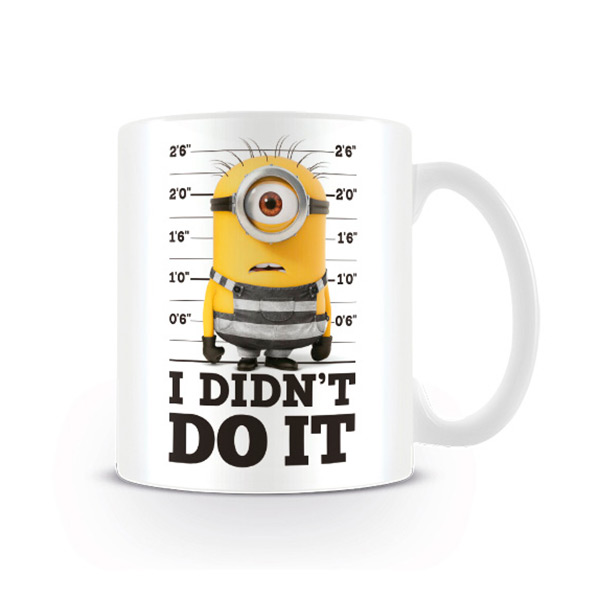 Taza Minions Desplicable Me
