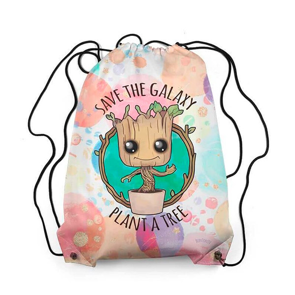 Bolsa de Tela Groot Save the Planet