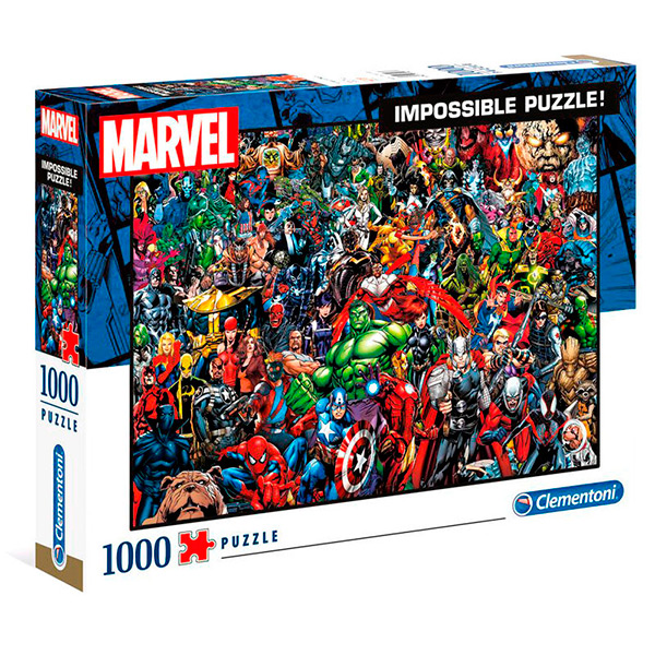 Puzzle High Quality Marvel 1000pz