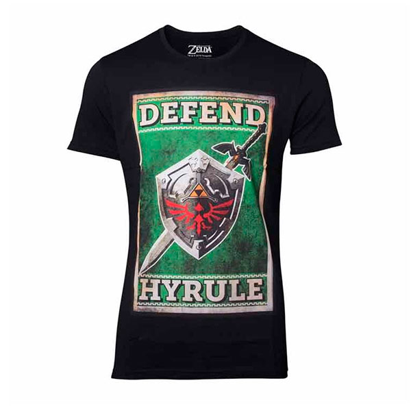 Camiseta Zelda Kingdom of Hyrule