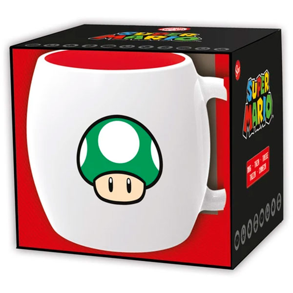 Taza Ovalada Super Mario Bros 355ml