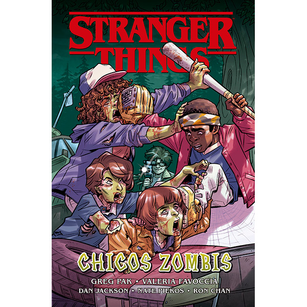 Stranger Things 3 - Chicos Zombis
