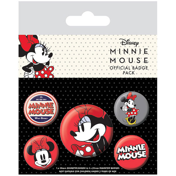 Chapas Minnie Mouse
