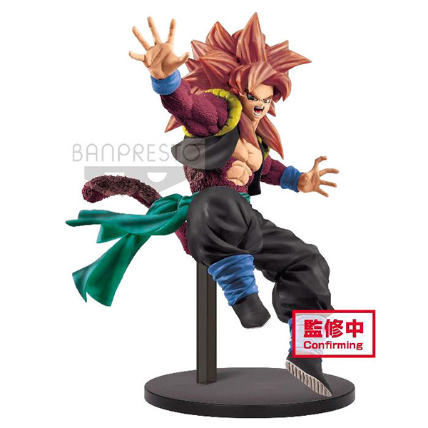 Figura Super Saiyan 4 Gogeta Dragon Ball Heroes 18cm
