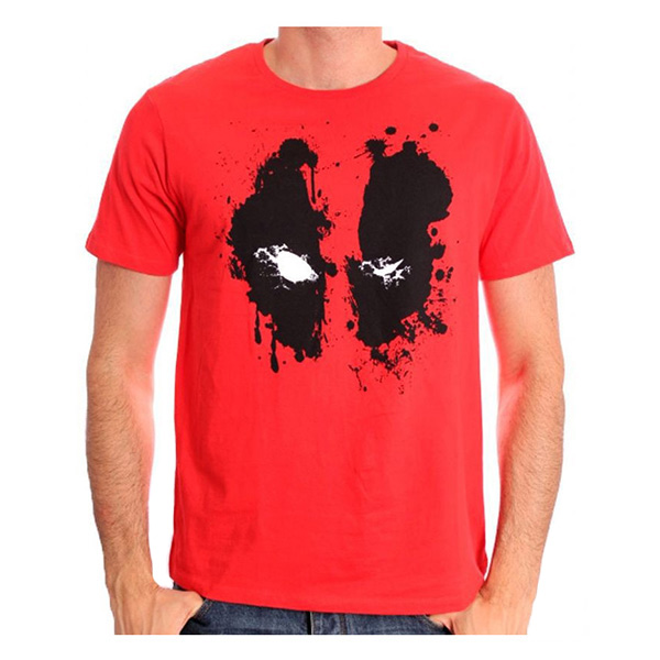 Camiseta Deadpool Roja