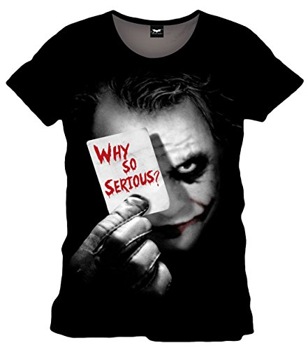 Camiseta Joker Why So Serious
