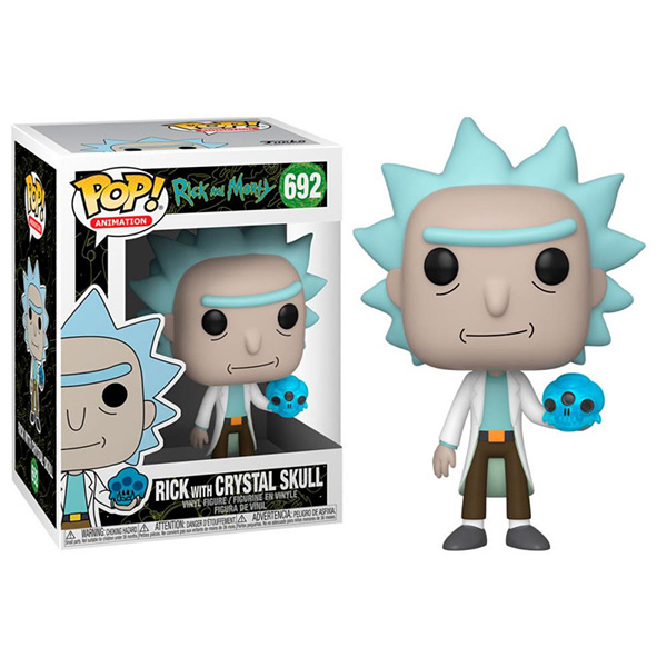 Pop Rick with Crystal Skull 692