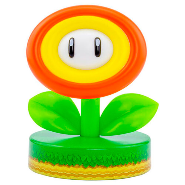 Lámpara Mario Fire Flower