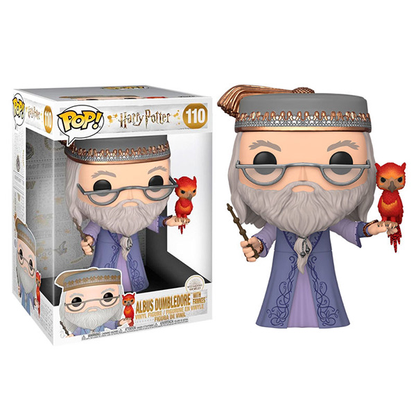 Pop Dumbledore with Fawkes 110 25cm
