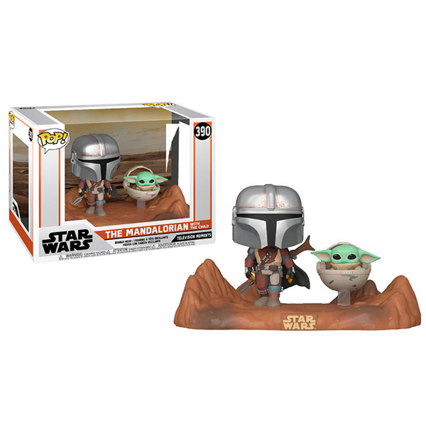 Pop The Mandalorian with The Child 390