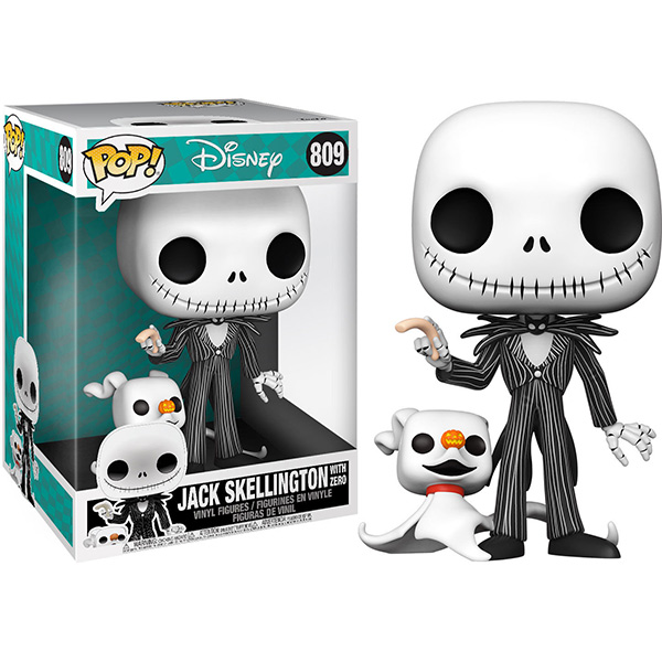 Pop Jack Skellington with Zero 809 25cm