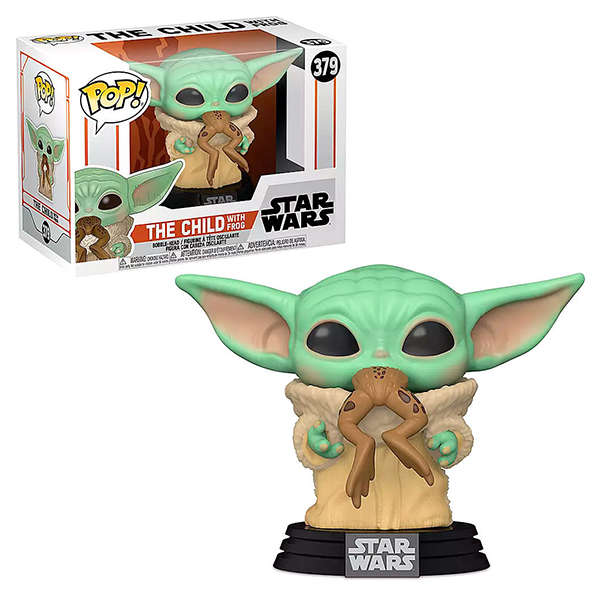 Pop Mandalorian The Child with Frog 379