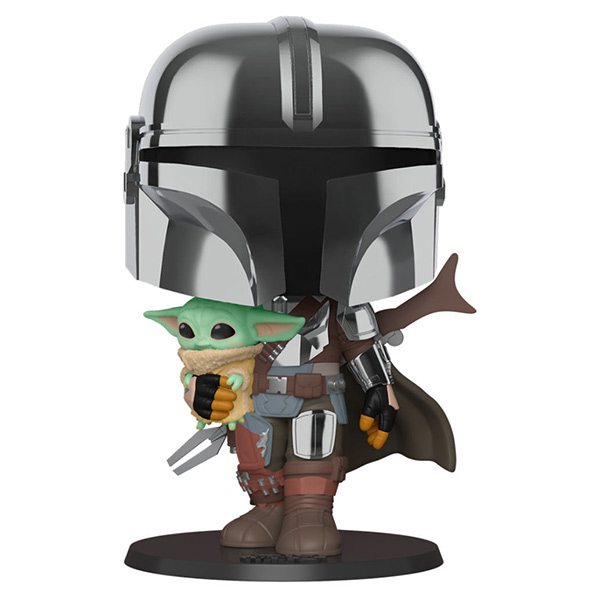 Pop Mandalorian with The Child 380 25cm