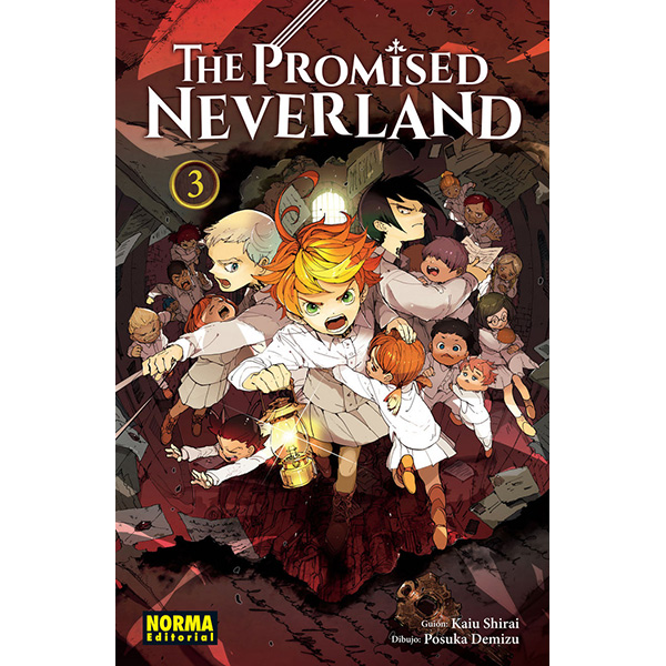 The Promised Neverland Vol.3