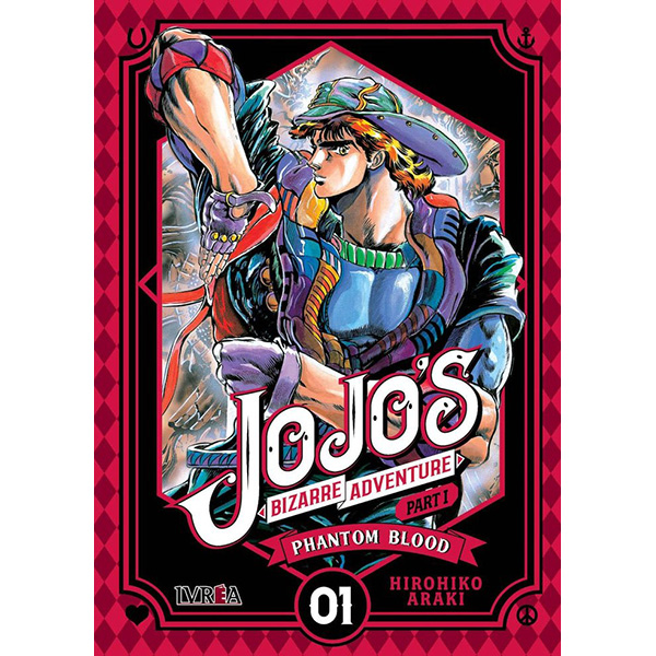 Jojo's Bizarre Adventure Parte I - Phantom Blood 01
