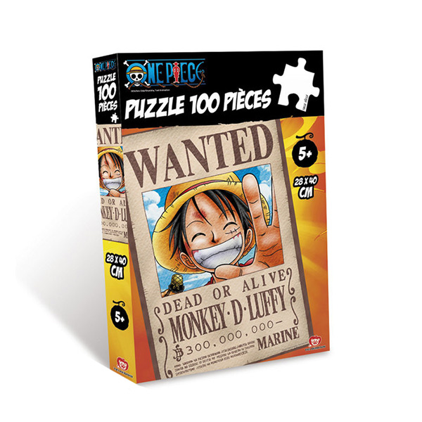 Puzzle One Piece Wanted 100pz