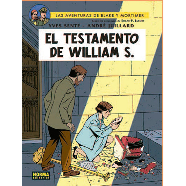 Blake & Mortimer 24 - El Testamento de William
