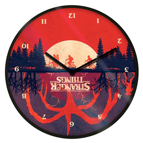 Reloj de Pared Stranger Things