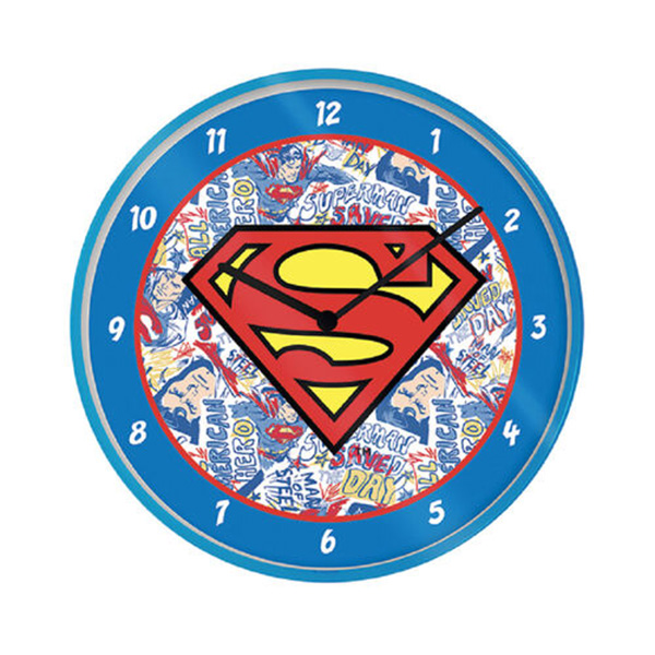 Reloj de Pared Superman
