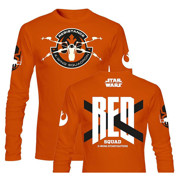 Camiseta Manga Larga Star Wars Squadron