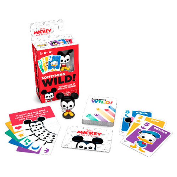 Juego de Cartas Something Wild! Mickey and Friends