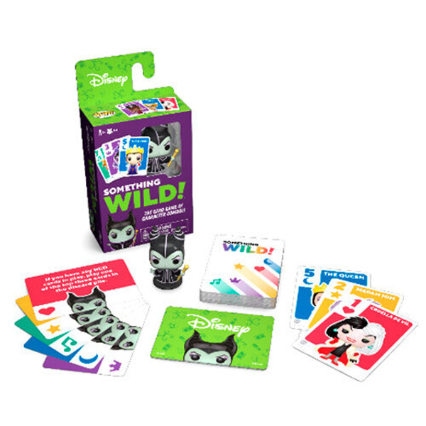 Juego de Cartas Something Wild! Villanas Disney