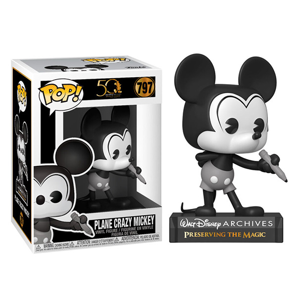 Pop Disney Archives Mickey Mouse 797 Plane Crazy Mickey