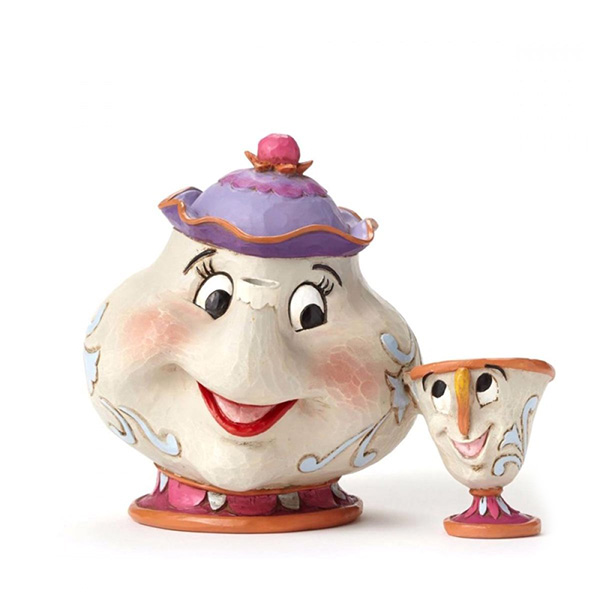 Figura Disney Traditions Mrs. Potts&Chip A Mother's Love