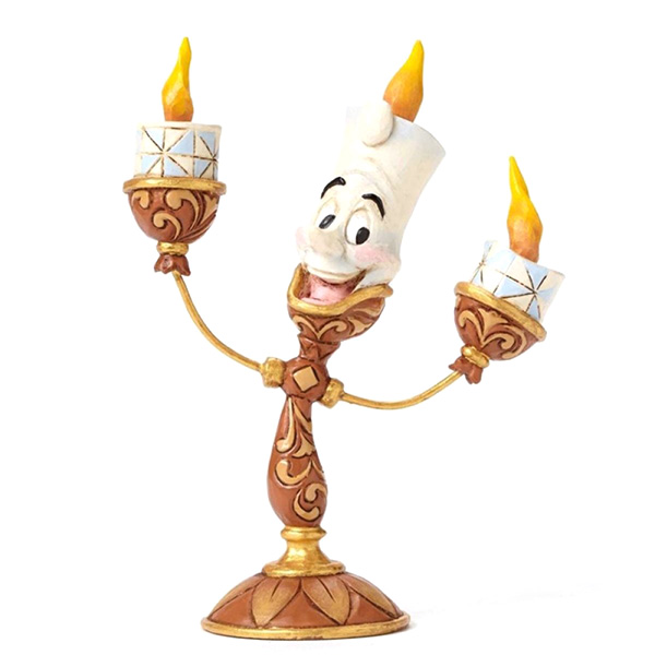 Figura Disney Traditions Lumiere Ooh La La