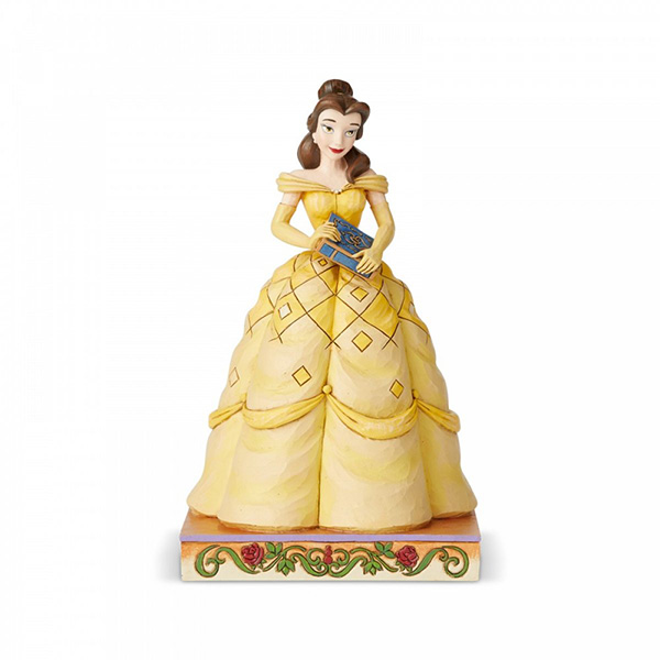 Figura Disney Traditions Bella Book-Smart Beauty