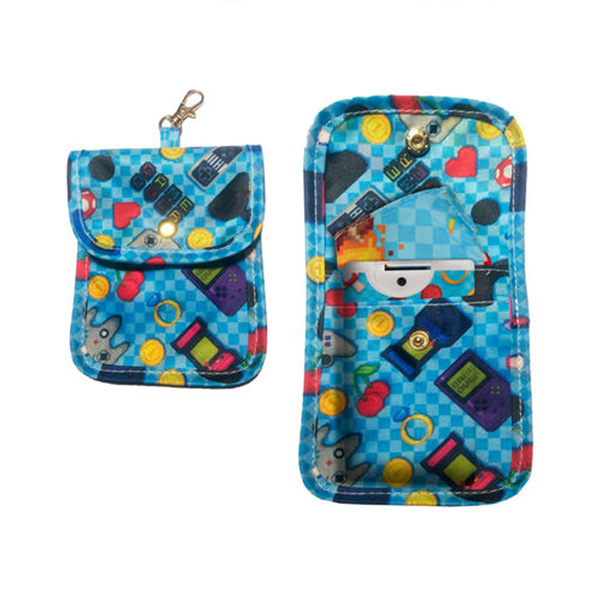 Funda Portamascarillas Game Over 10x7cm