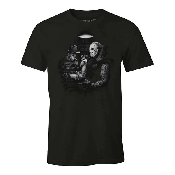 Camiseta Freddy and Jason Tatoo