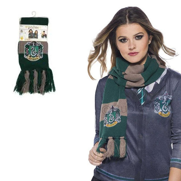 Bufanda Deluxe Slytherin Harry Potter