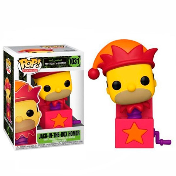 Pop Jack-In-The-Box Homer 1031