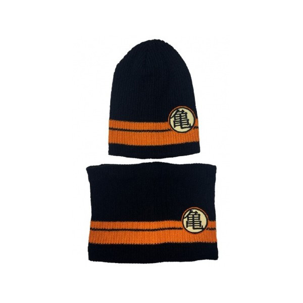 Set Gorro y Cuello DragonBall