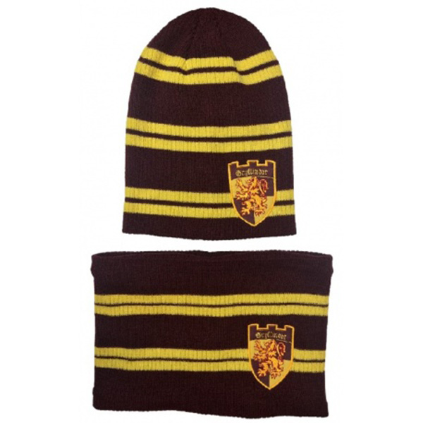 Set Gorro y Cuello Harry Potter Gryffindor