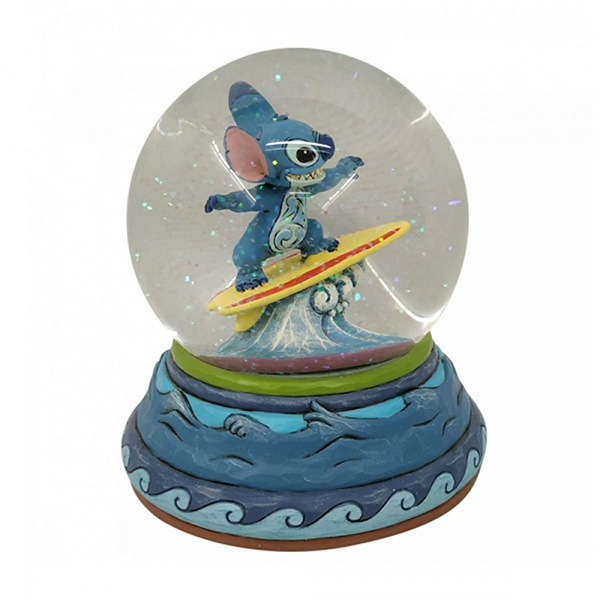 Figura Disney Traditions Stitch Waterball