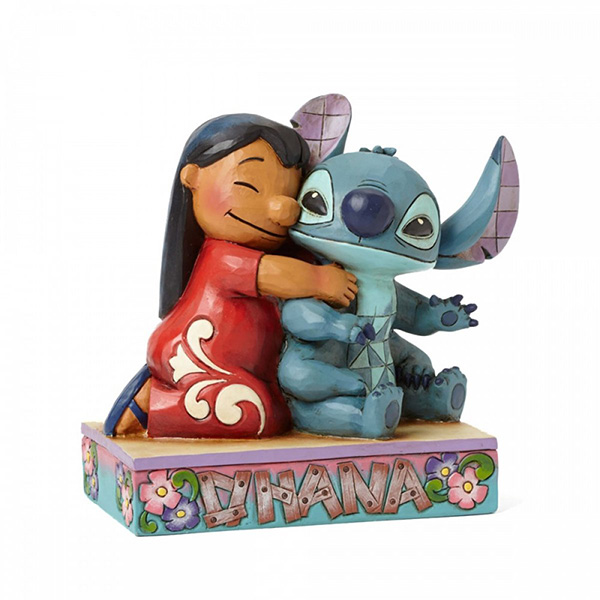 Figura Disney Traditions Lilo and Stitch Ohana Means Family